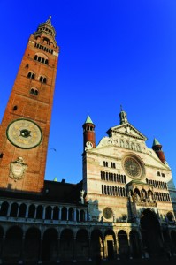 The beautiful Romanesque cathedral complex of Cremona