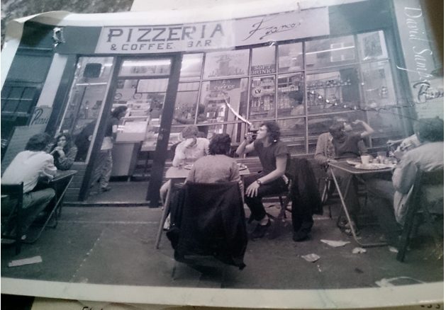 Francos in Brixton MArket, circa 1985