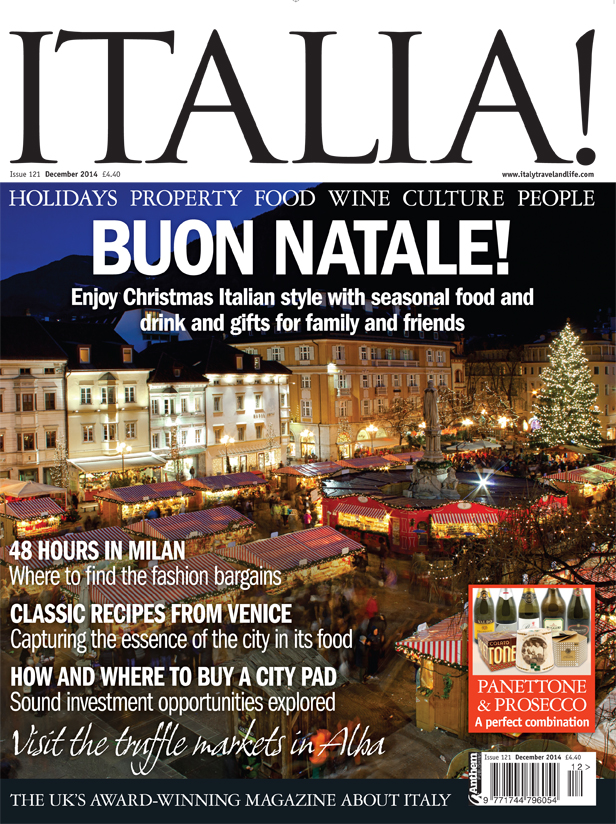 Italia! issue 121 is on sale now!