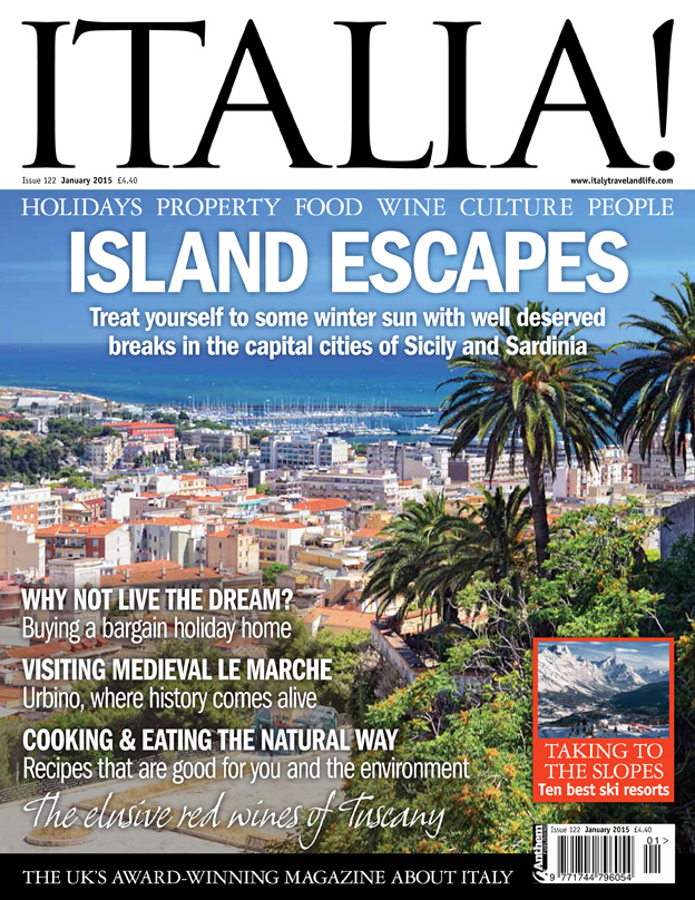 Italia! issue 122 on sale now!