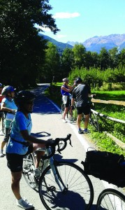 EN ROUTE TO MERANO CYCLE PATH