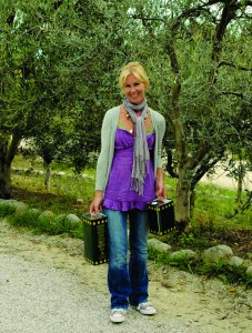 *Dawn with our olive oil production. copy