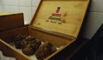 *White truffles at the Tartufi Morra shop