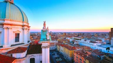 1 view across Brescia