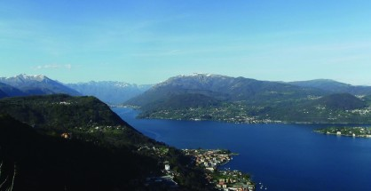 *view from the Madonna del Sasso Sanctuary