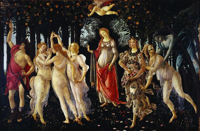 *Botticelli-primavera