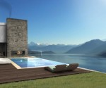 Private villa with Lake Como view and pool