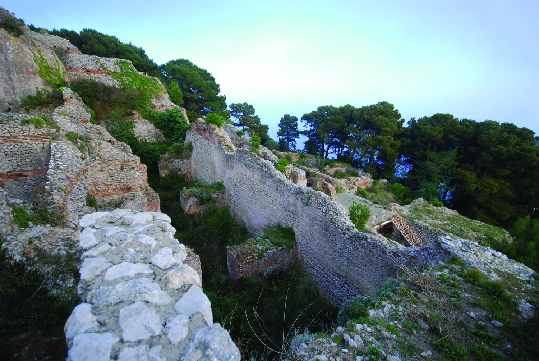Ruins of Tiberius's Villa Jovis