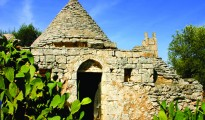 *And old abandoned trulli, iconic of the region of Puglia