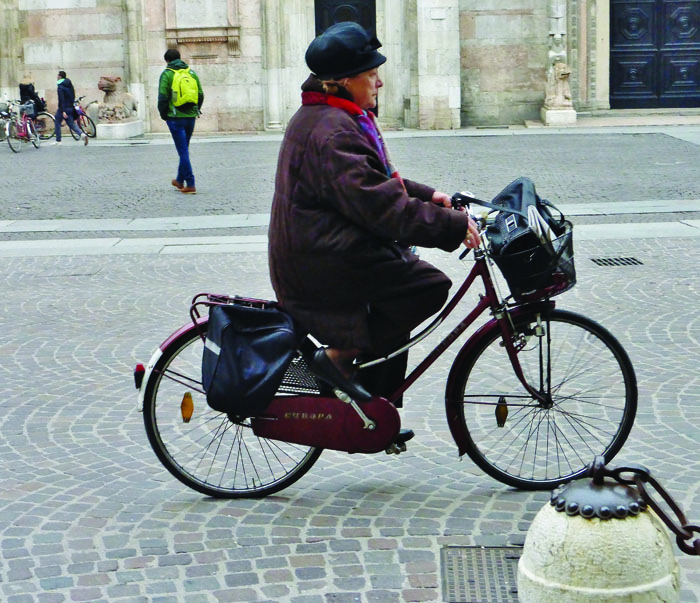 Bicycling in Ferrara