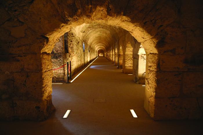 Cryptoporticus, Aosta