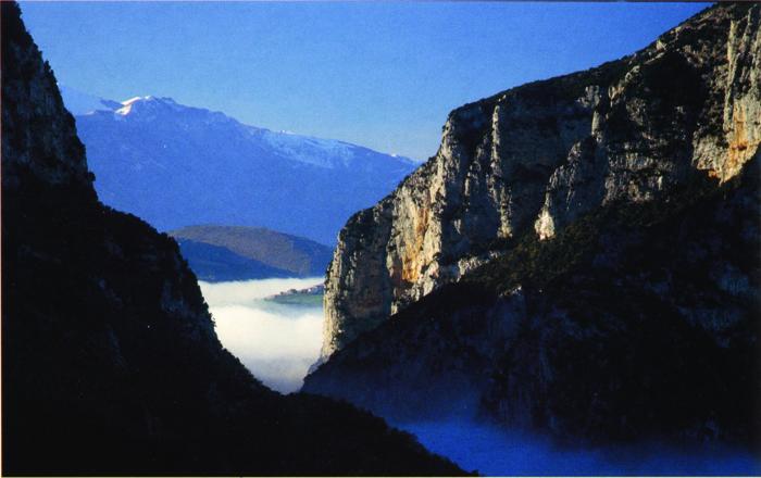 *Frasassi Consortium, Gola della Rossa national park (entrance)