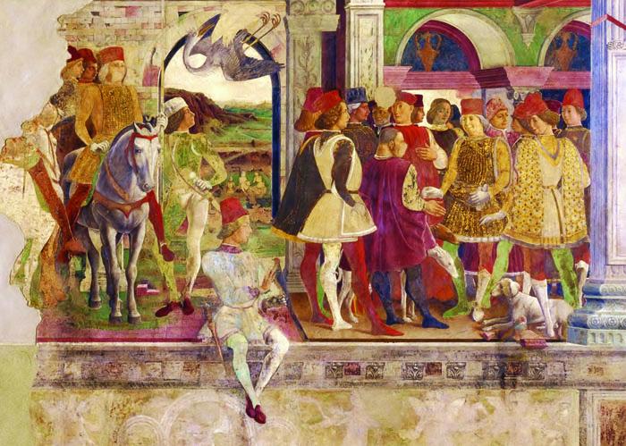 Fresco in Palazzo Schifanoia