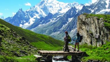 VALLE D'AOSTA-Monte Bianco e Val Ferret