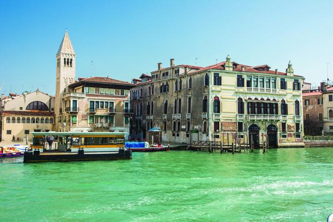 1 San Samuele and Palazzo Malipiero on the Canal Grande 1