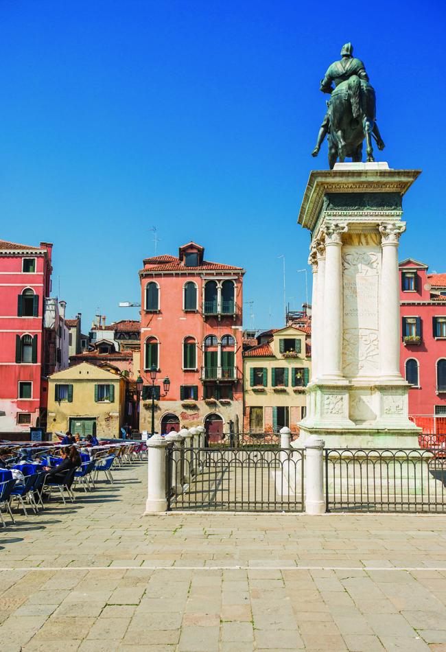 17 Monument to Bartolomeo Colleoni in San Giovanni e Paolo