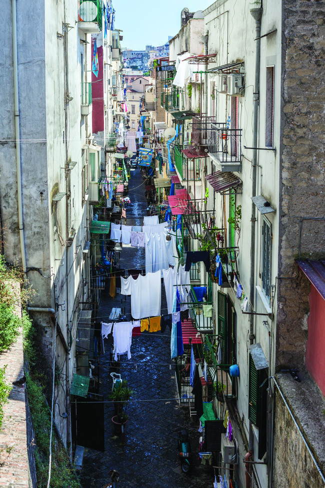 Naples has a charm all of its own.