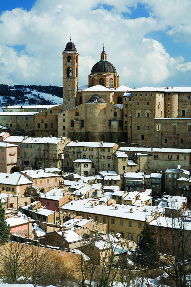 Beautiful Urbino has great rental prospects.
