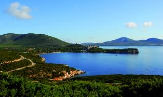 The enchanting bay of Porto Conte, near Alghero.