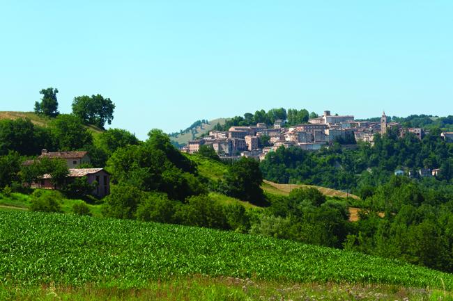 Amandola sits within the Monti Sibillini National Park.