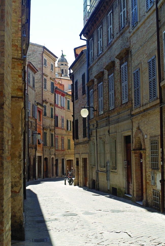 Macerata is popular with tourists and home-buyers alike.