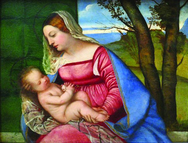 Madonna_z_dzieciatkiem_Tycjan