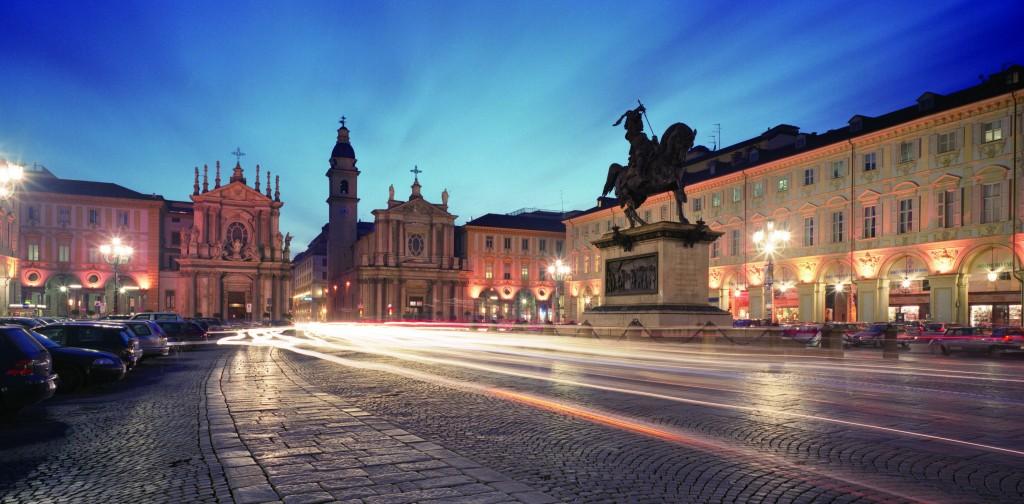 San Carlo square, Turin, Piedmont, Italy