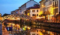 grand canal in milan