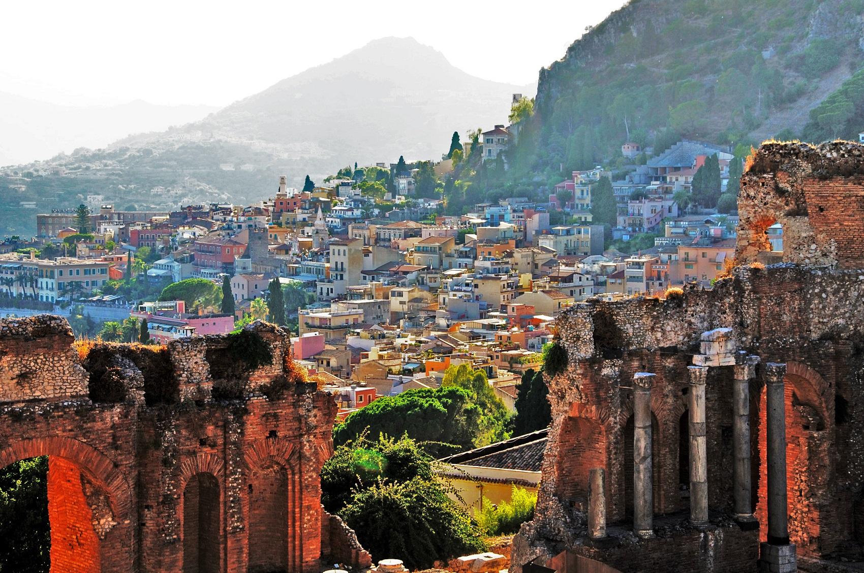 Sicily Island Italy Weather