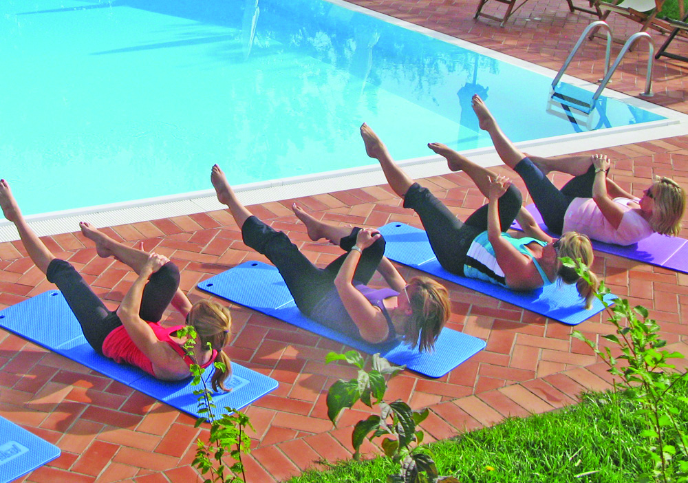 pool pilates
