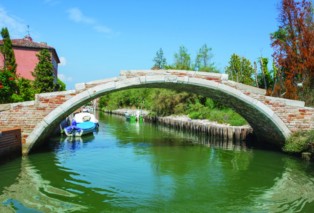 Islands - Ponte del Diavolo on the island of Torcello, legend has it, the bridge was built in one night by the Devil himself!