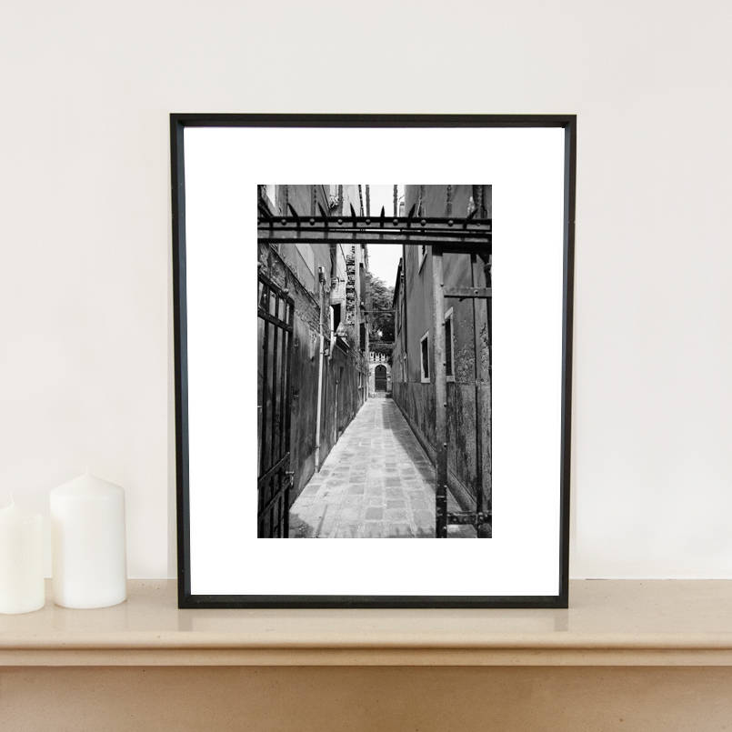 original_gate-venice-italy-black-and-white-signed-art-print-father's