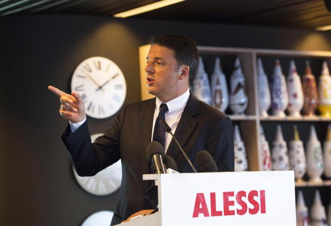 Matteo renzi visits the alessi factory italy travel and for Alessi omegna