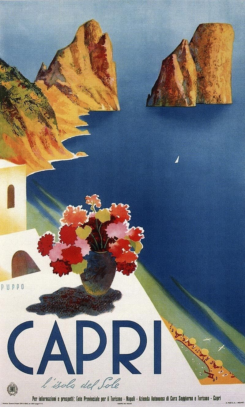 Top Italian Art Deco Posters , Italy Travel and Life