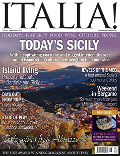 Italia! August Issue 141 on sale now! - Italy Travel and ...