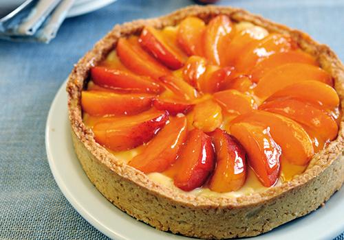Apricot Cream Tart