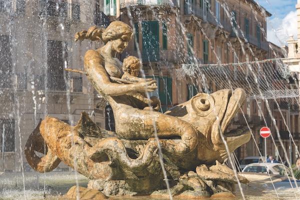 Fountain of Diana, Syracuse, Sicily