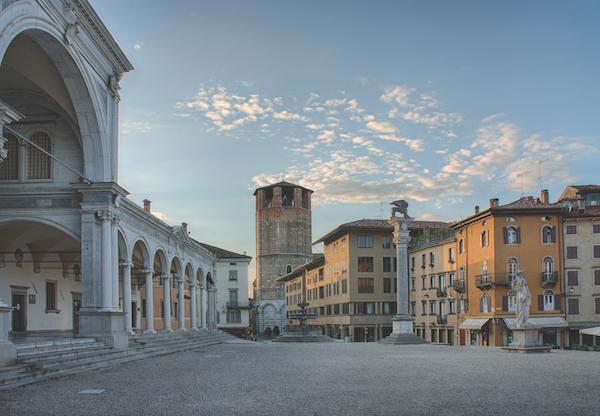 Piazza della Liberta, Udine, Italy