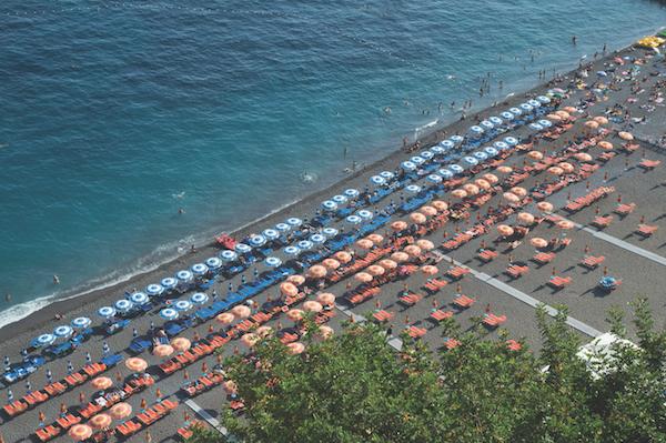 Spiaggia Grande, beach at Positano, Italy