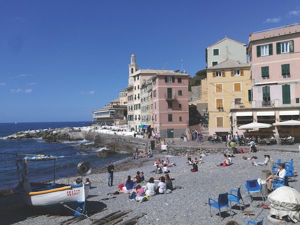Boccadasse Beach, Genoa
