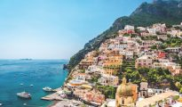 Picturesque Amalfi coast. Positano, Italy