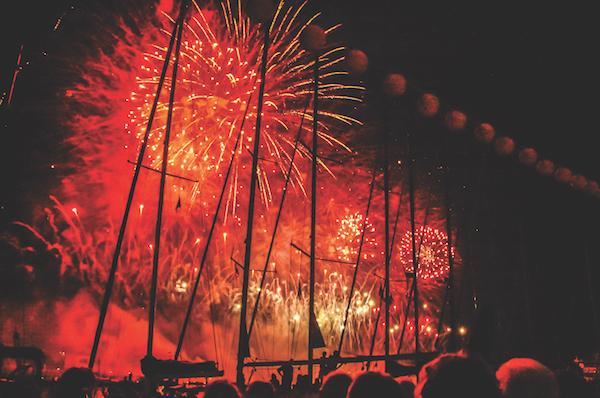 Fireworks Venice Festival il redentore