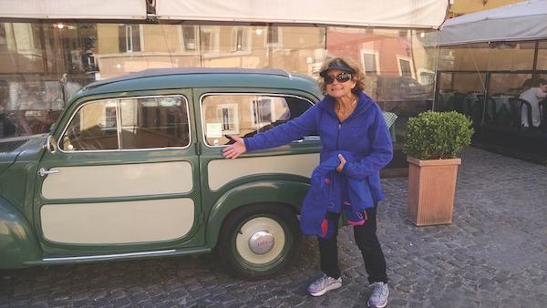trastevere car rome Italy