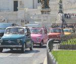 Rome in a Fiat 500