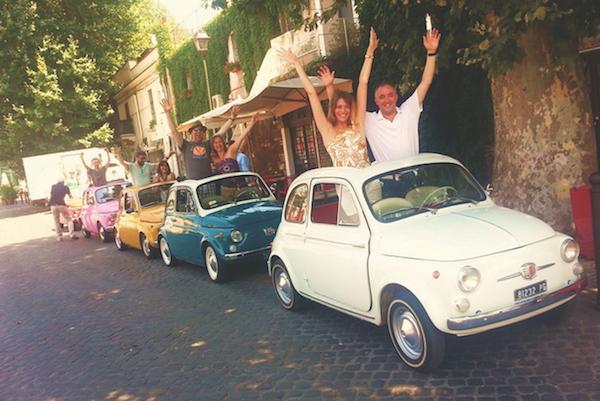 Fiat 500 Rome tour