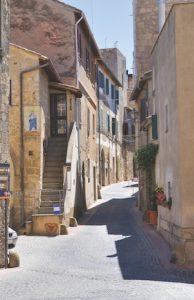 Tarquinia alleyway, Lazio