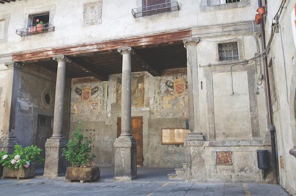 Bagnaia Lazio Italy
