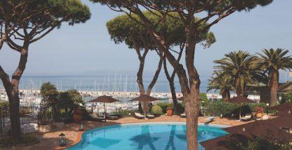 Swimming pool Cala del Porto Tuscany Italy