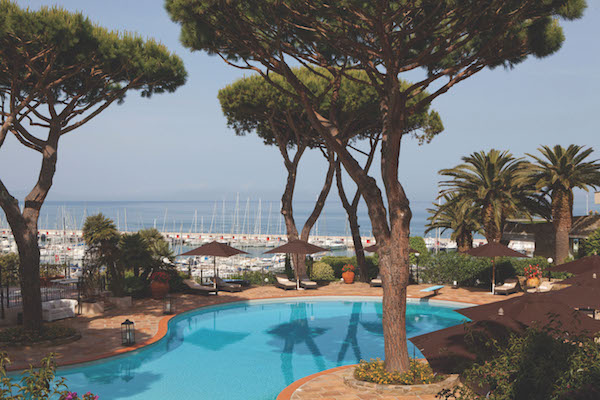 Swimming pool Cala del Porto Tuscany Italy