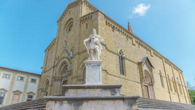 Arezzo Cathedral, Tuscany, Italy